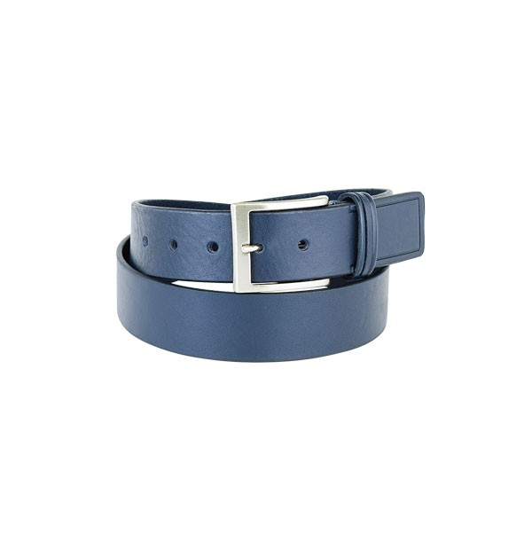 "Man belt made in real leather ""vegetable tanned"" - Bull Leather very thick - Sporty Line - mm. 40"