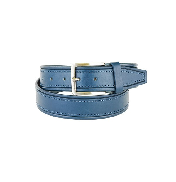"Man belt made in real leather ""vegetable tanned"" - Bull Leather embossed - Sporty Line - mm. 40"