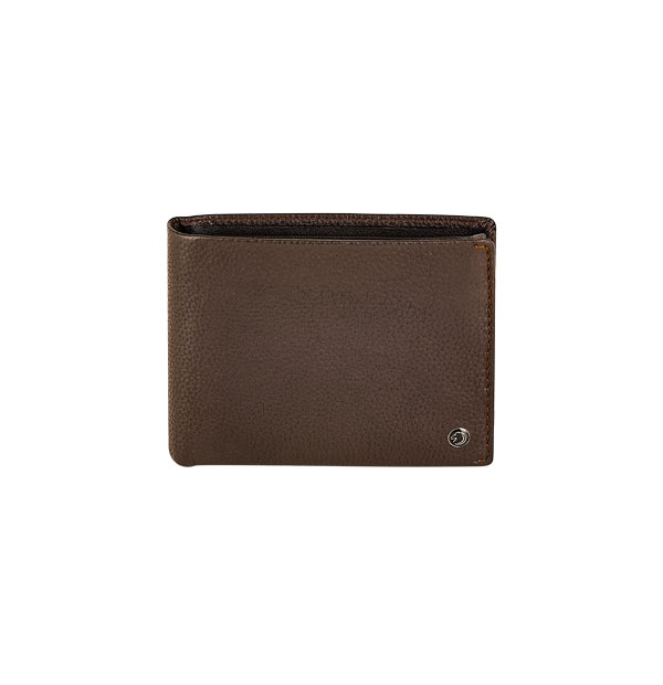 Man's wallet made in Real Leather - with coin pocket