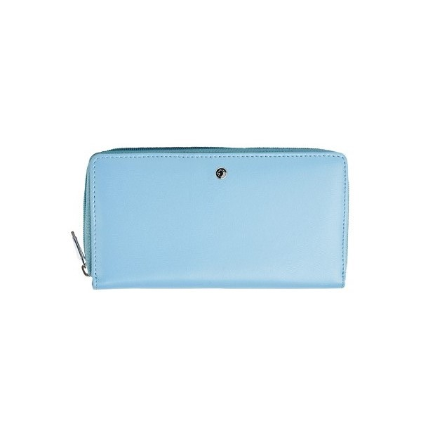 Women's wallet with double compartment