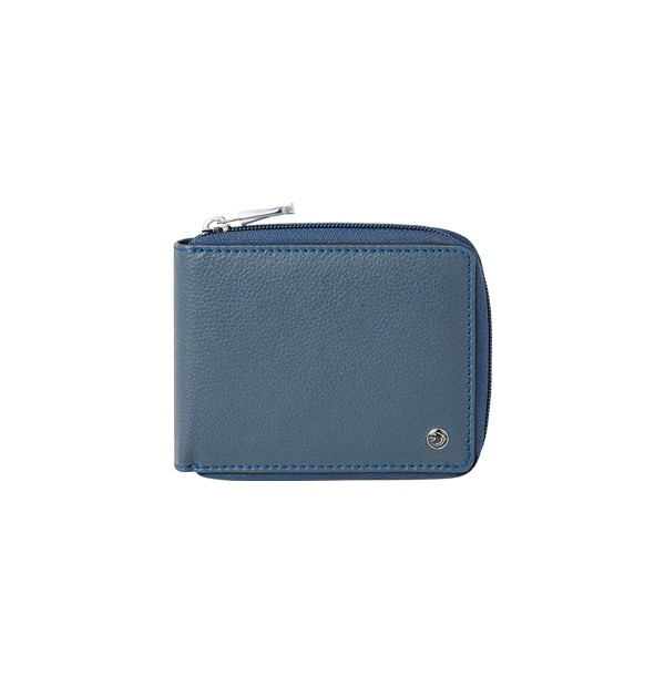 Men's wallet with zip closure - coin purse